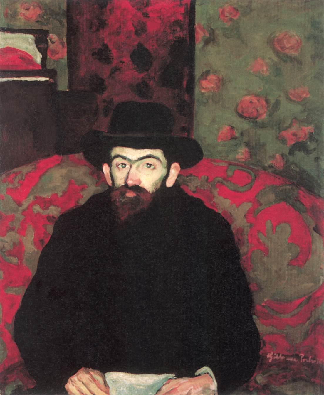 Portrait of Sandor Ziffer 1908 | Vilmos Csaba Perlrott | Oil Painting
