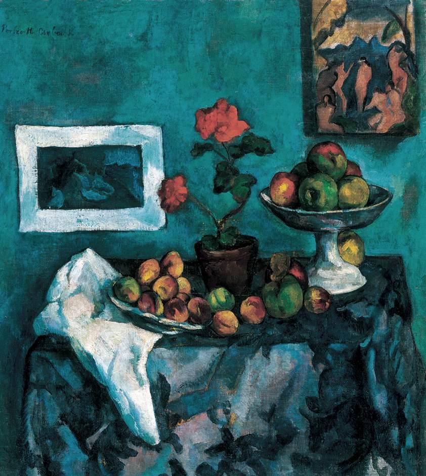 Fruit Still life in Atelier | Vilmos Csaba Perlrott | Oil Painting