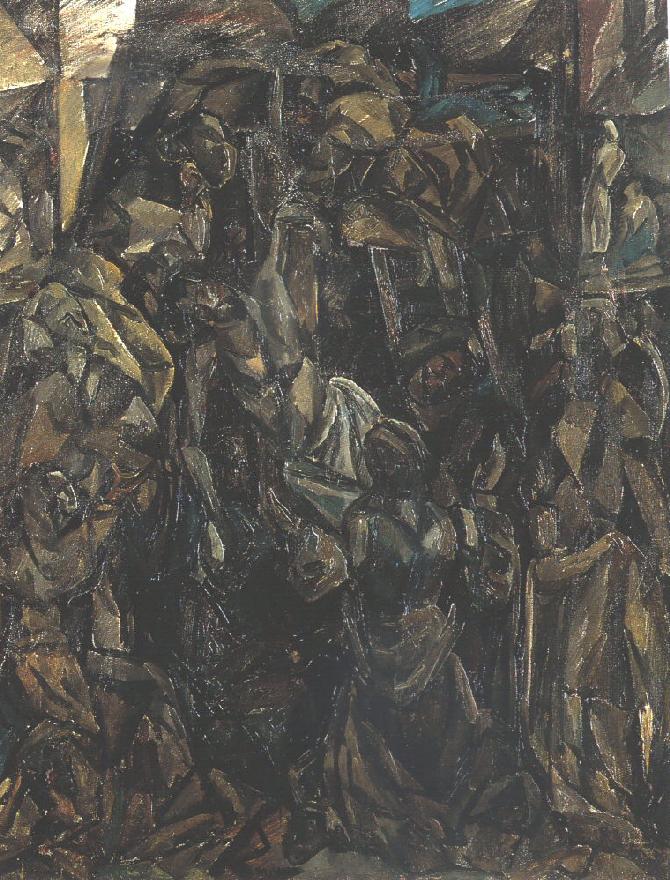 Descent from the Cross 1912 | Vilmos Csaba Perlrott | Oil Painting