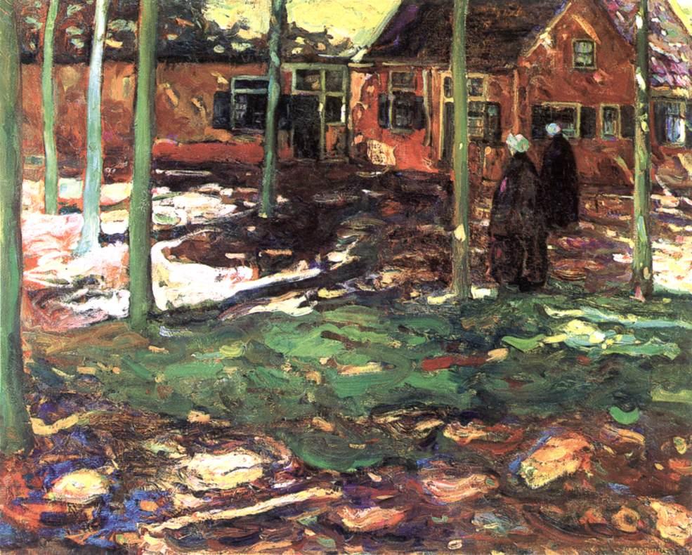 Summer in Holland 1912 | Izsak Perlmutter | Oil Painting