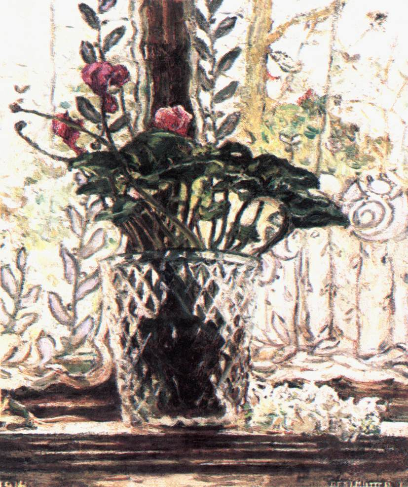 Cyclamen 1914 | Izsak Perlmutter | Oil Painting