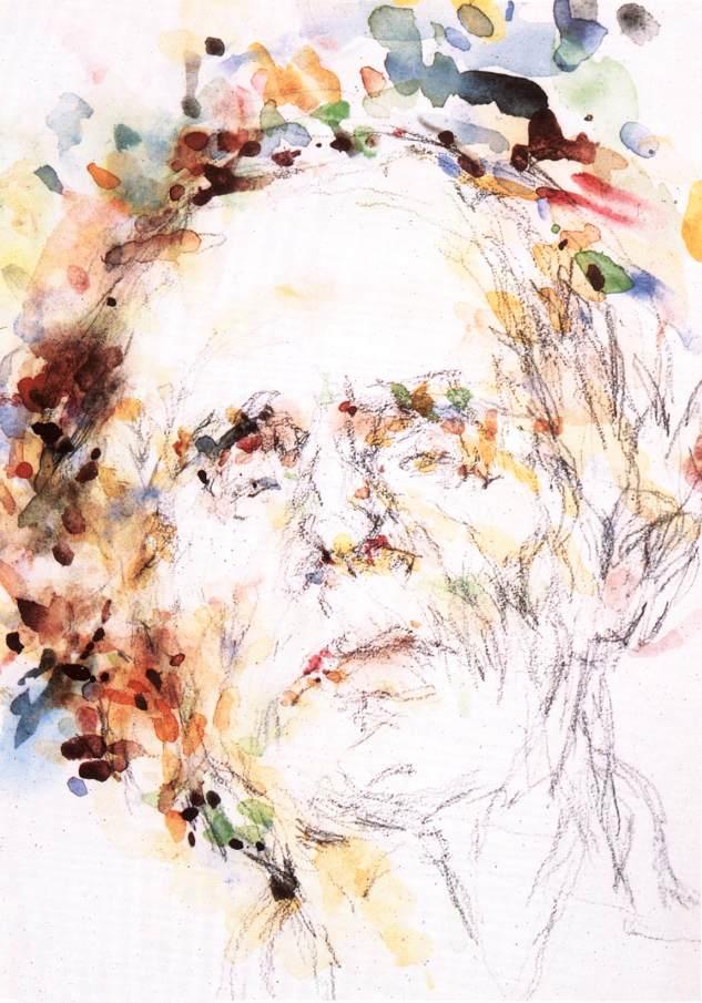 Self portrait 1976. | Bela Veszelszky | Oil Painting