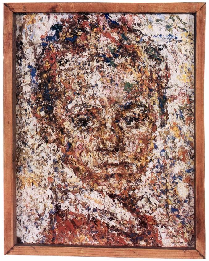 Portrait of Eszter Veszelszky 1953. | Bela Veszelszky | Oil Painting