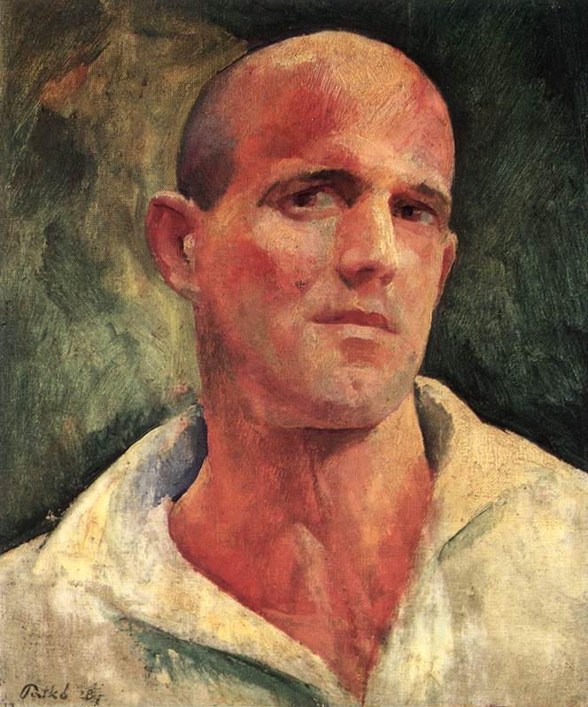 Self portrait 1928 2 | Karoly Patko | Oil Painting