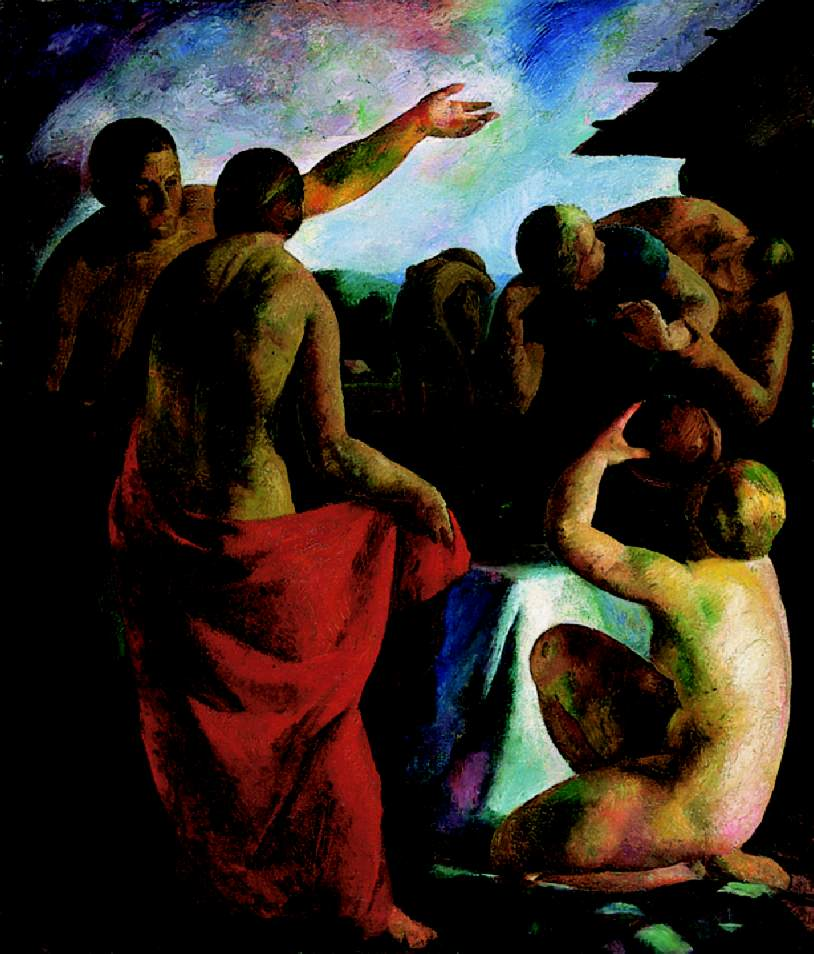 Nudes in the Open 1926 | Karoly Patko | Oil Painting