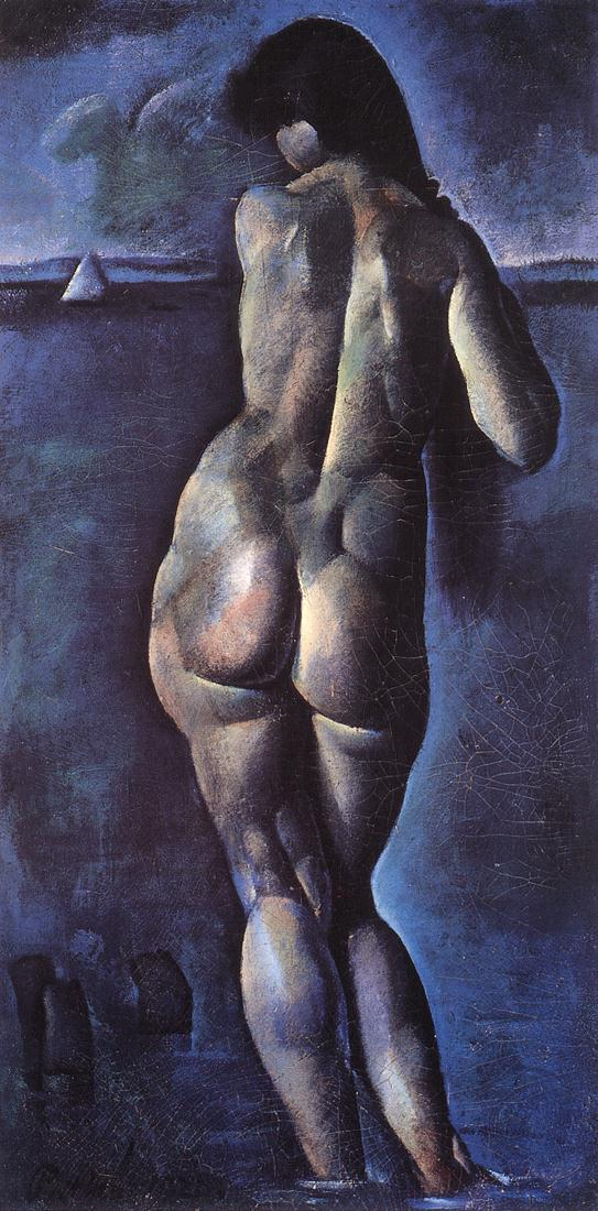 Nude from the Back 1920 | Karoly Patko | Oil Painting