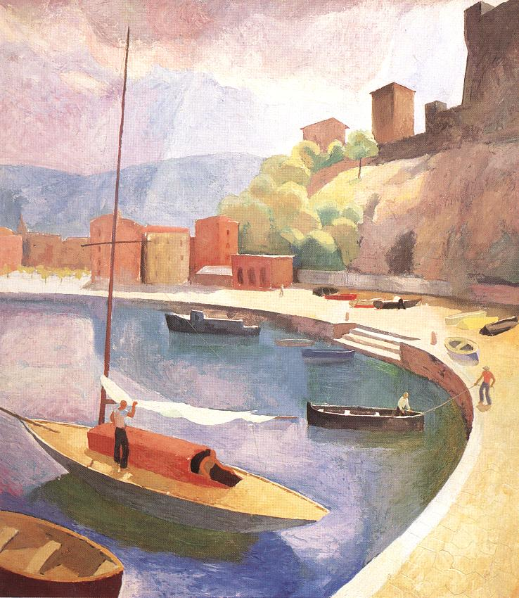 Gulf of Lerici 1928 | Karoly Patko | Oil Painting