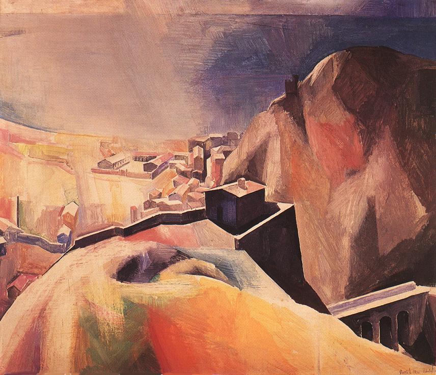 Cefalu 1930 | Karoly Patko | Oil Painting