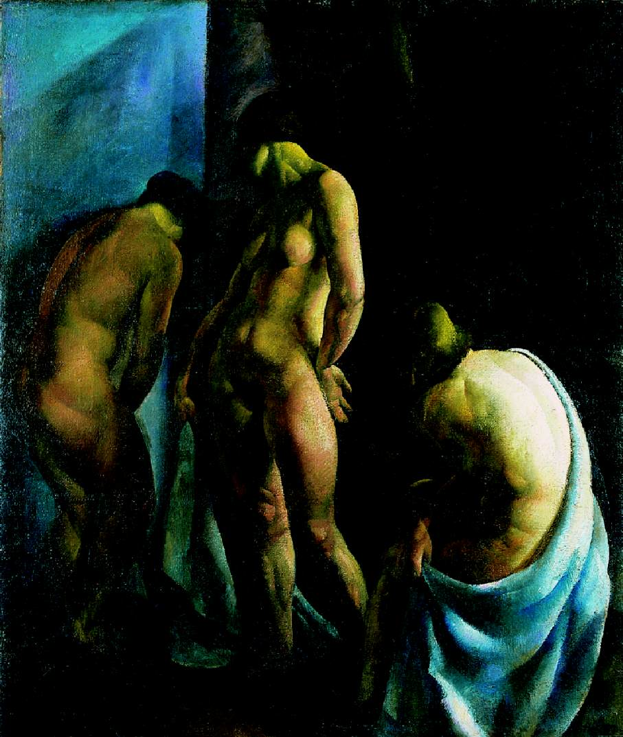 Bathers (Nudes) 1923 | Karoly Patko | Oil Painting