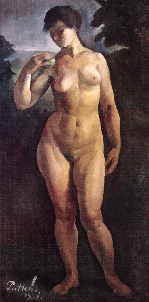 Nude 1921 | Karoly Patko | Oil Painting
