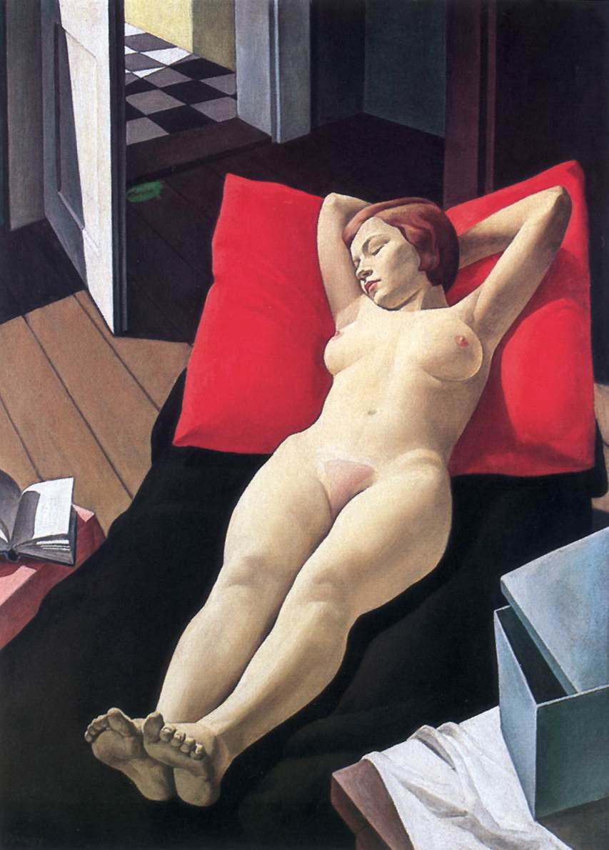 Reclining Nude 1930 33   Lajos Pandy   Oil Painting