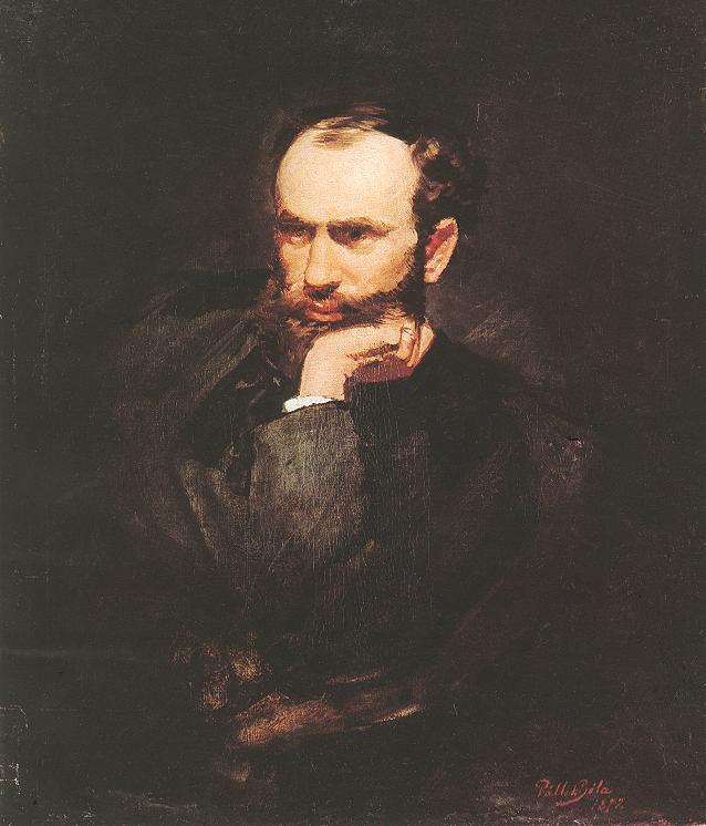 Portrait of Geza Meszoly 1872 | Bela Pallik | Oil Painting