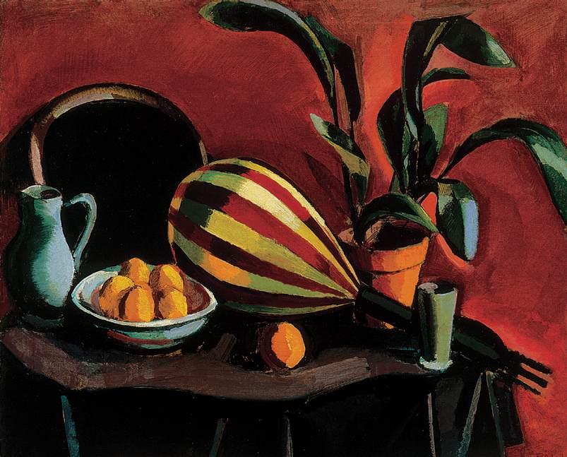 Still life with Mandolin 191 | Istvan Pal | Oil Painting