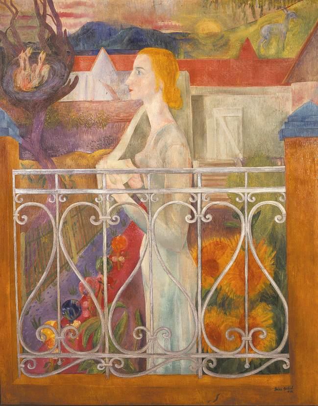 Bird call 1934 | Jeno Goebel Paizs | Oil Painting