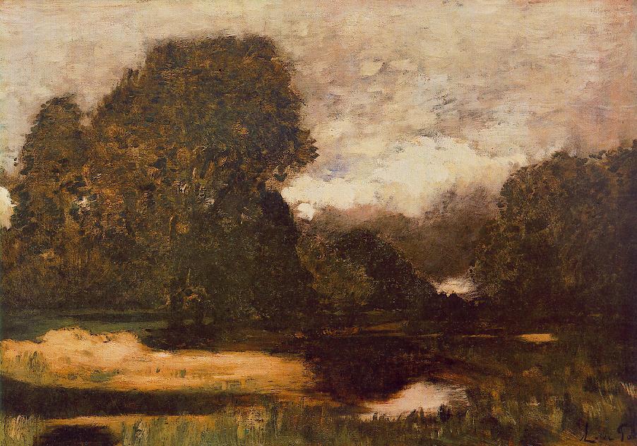 Frog Swamp 1875 | Laszio Paal | Oil Painting