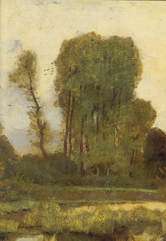 Edge of Forest (detail) 1872 | Laszio Paal | Oil Painting