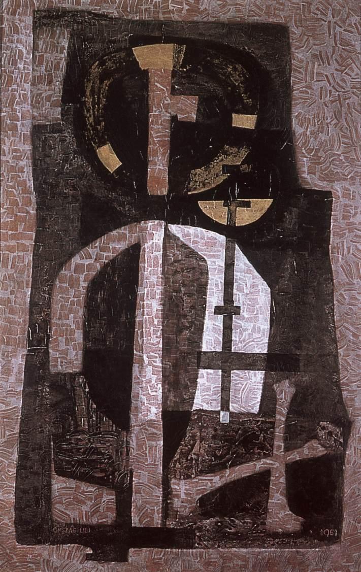 Catacomb 1959 | Lili Orszag | Oil Painting