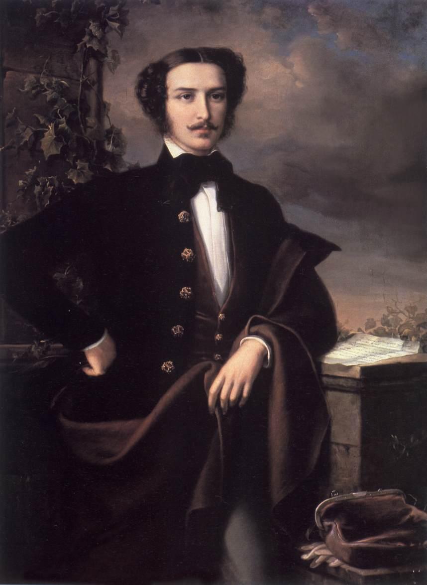 Portrai of Tamas Nadasdy 1858 | Soma Petrics Orlai | Oil Painting