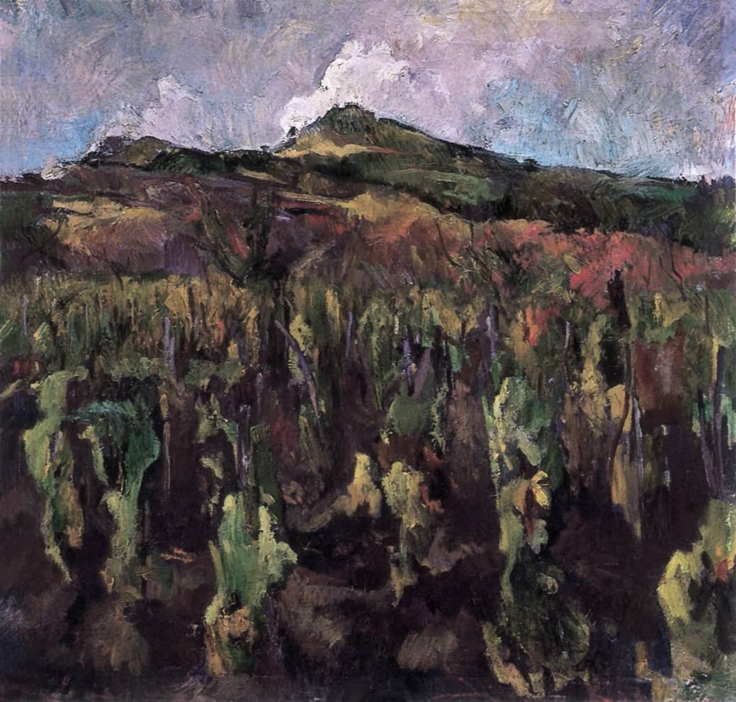 Vineyard at Szentendre 1930   Bela Onodi   Oil Painting