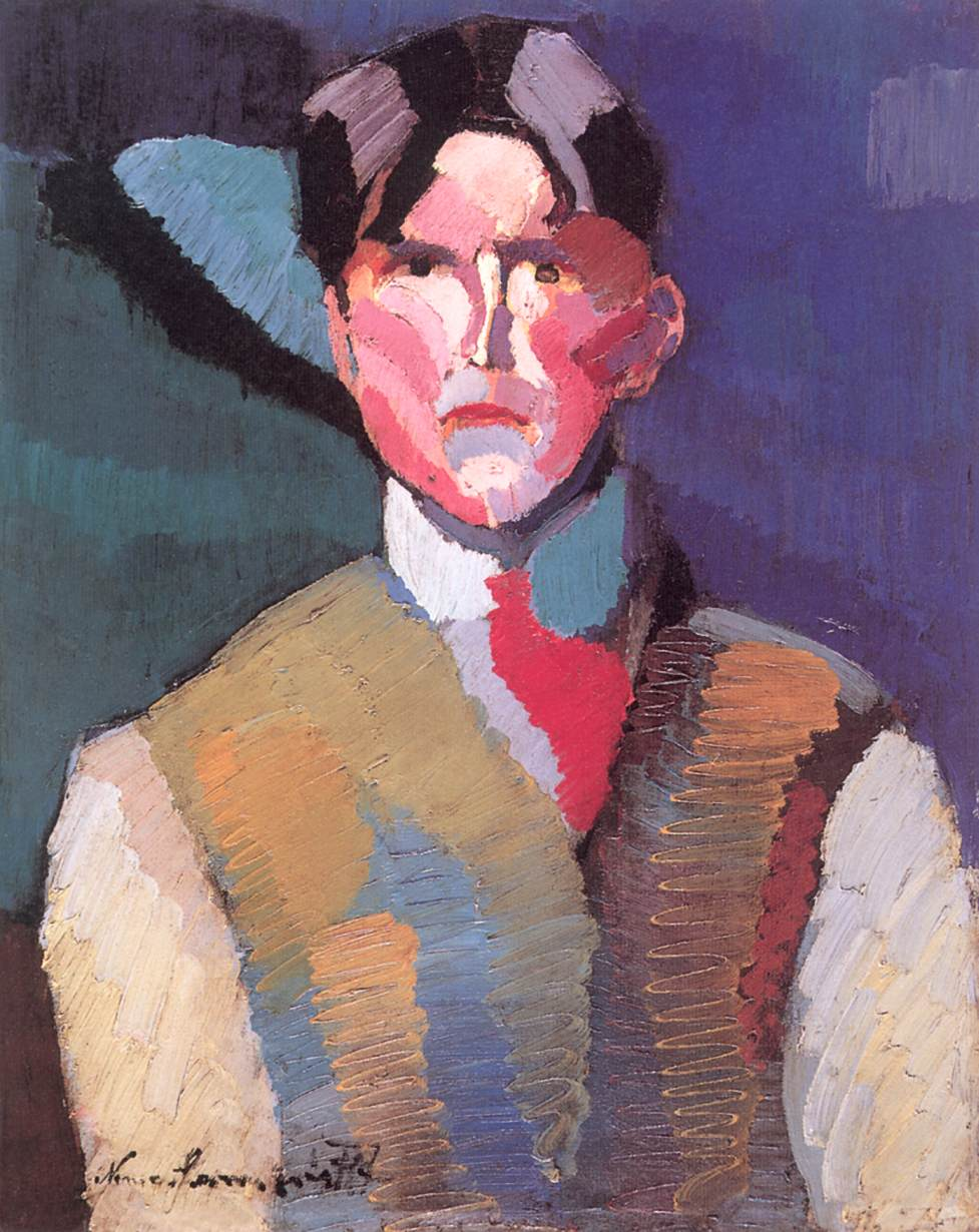 Self portrait 1911 | Jozsef Lamperth Nemes | Oil Painting
