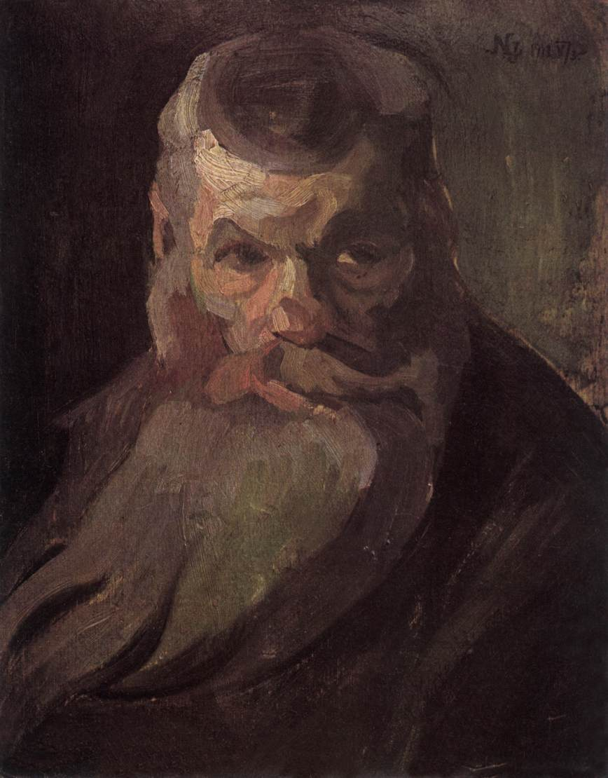 Portrait of a Bearded Man 1912 | Jozsef Lamperth Nemes | Oil Painting