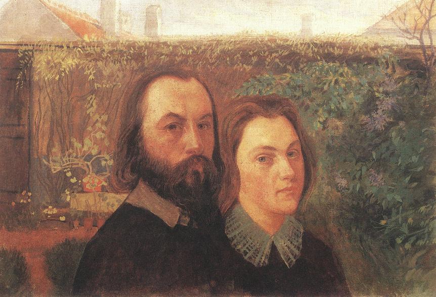 Double portrait 1907 | Sandor Nagy | Oil Painting