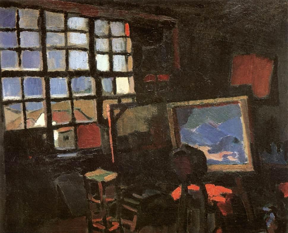 Studio 1935   Oszkar Nagy   Oil Painting