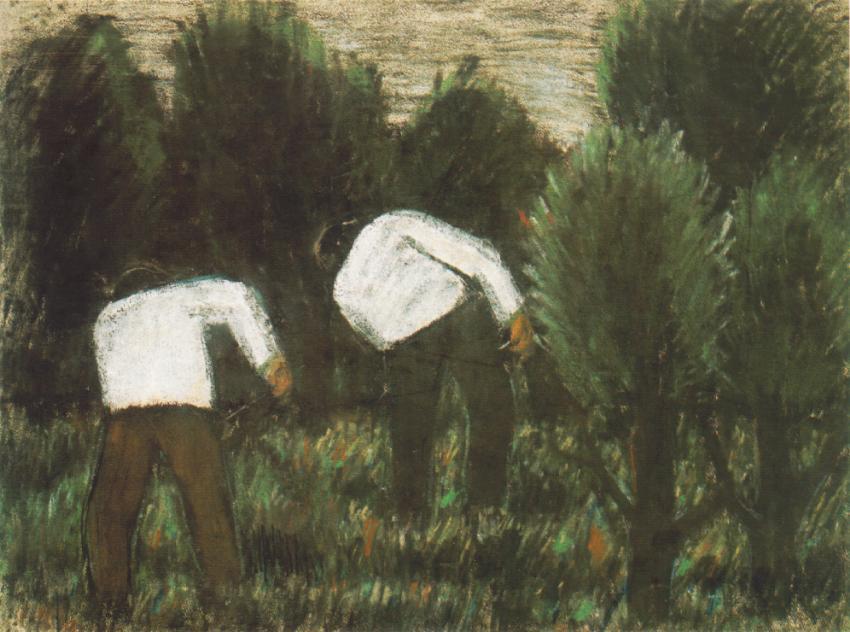 Grass Cutters 1927 | Istvan Nagy | Oil Painting