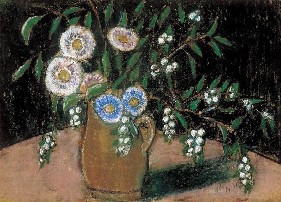 Flower Still life | Istvan Nagy | Oil Painting