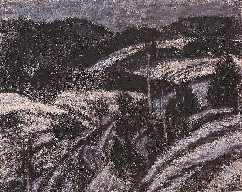 Winter Landscape 1927 | Istvan Nagy | Oil Painting