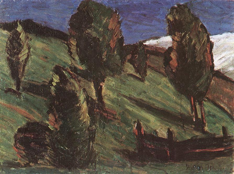 Transylvanian landscape 1925 | Istvan Nagy | Oil Painting