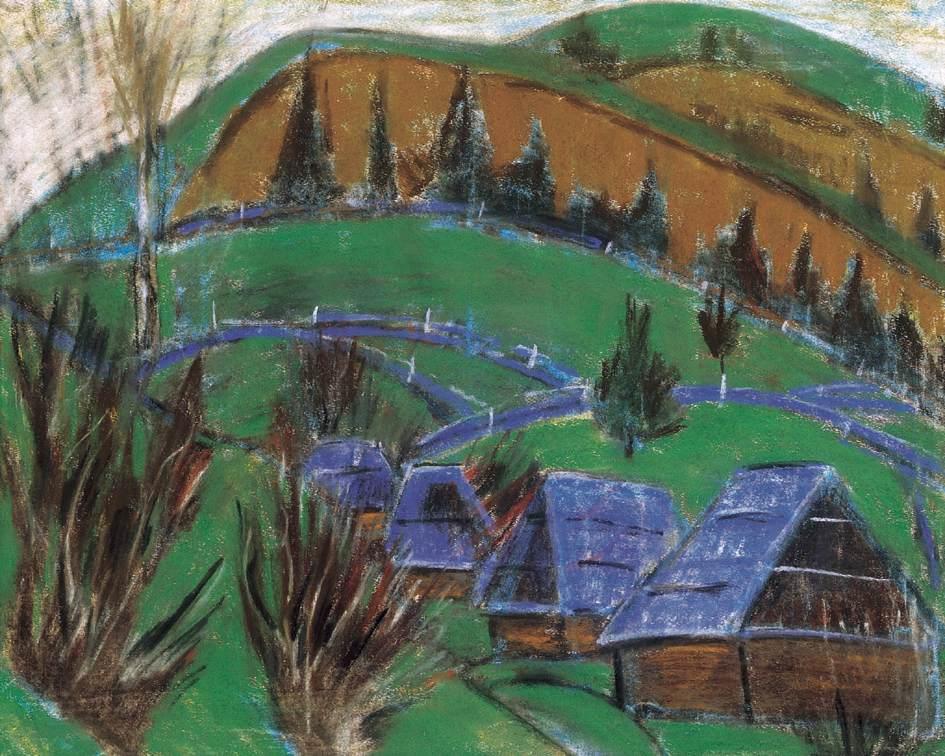 Transylvanian Landscape | Istvan Nagy | Oil Painting