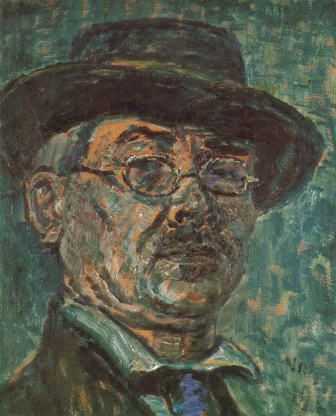 Self portrait 1920 | Istvan Nagy | Oil Painting