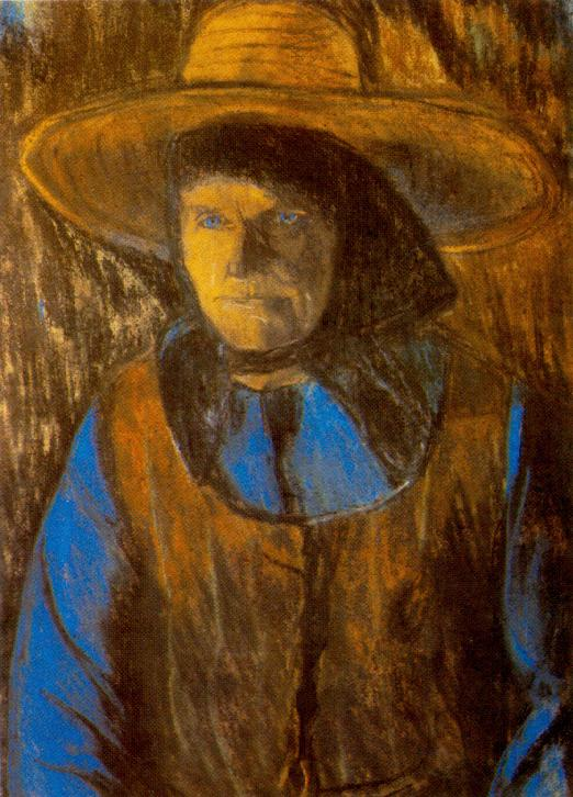 Old Woman with Hat end of 1920s | Istvan Nagy | Oil Painting