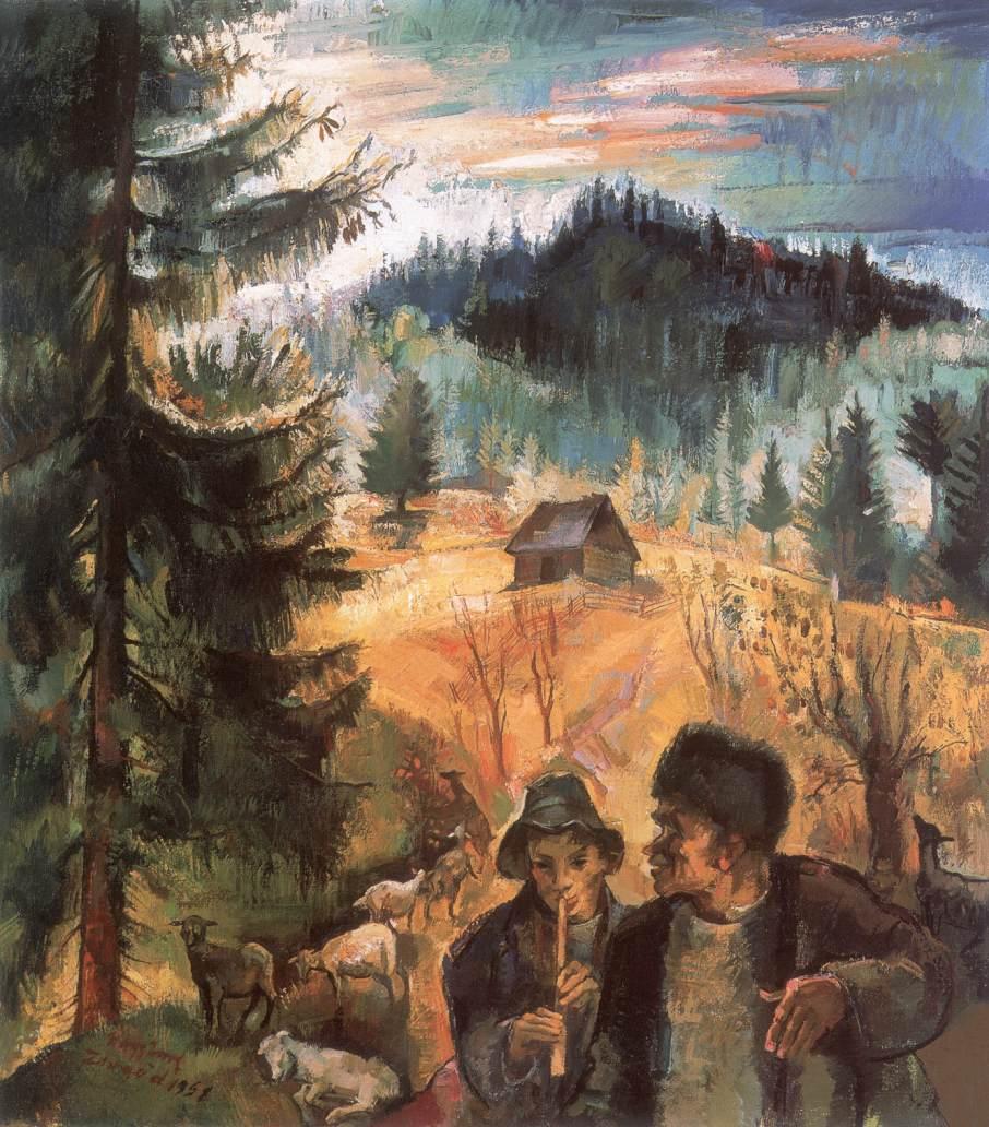 Transylvanian Landscape | Imre Nagy | Oil Painting