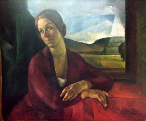 Portrait of Rigo Manci 1925 | Imre Nagy | Oil Painting