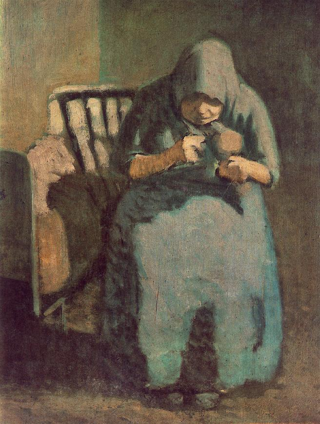The Artist's Mother 3 | Janos Balogh Nagy | Oil Painting