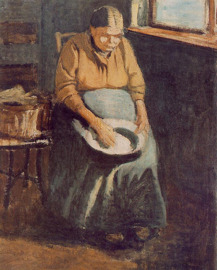 The Artist's Mother | Janos Balogh Nagy | Oil Painting