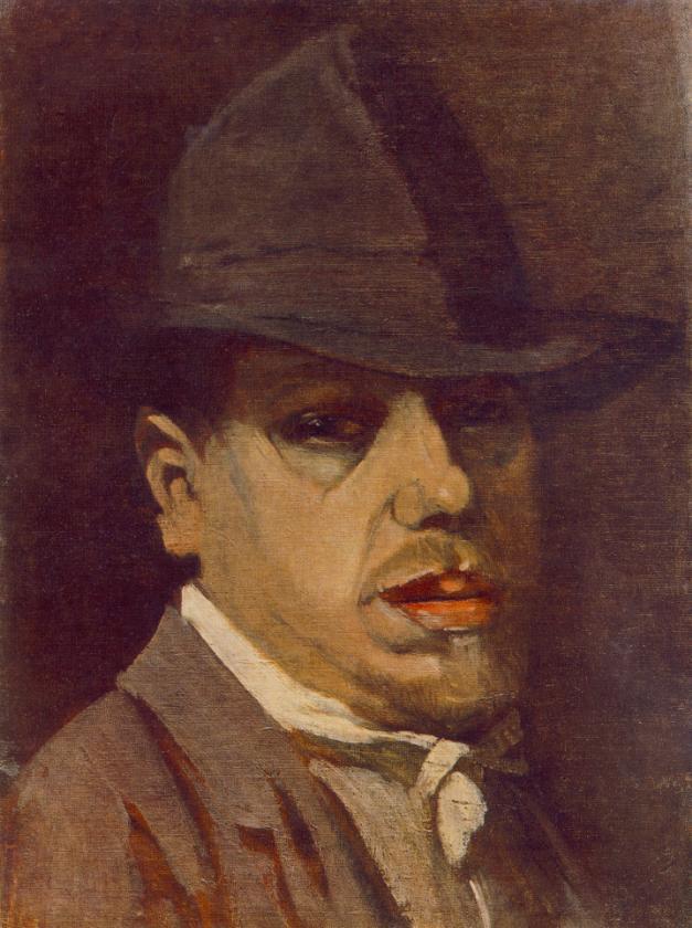Self-portrait 1910 | Janos Balogh Nagy | Oil Painting