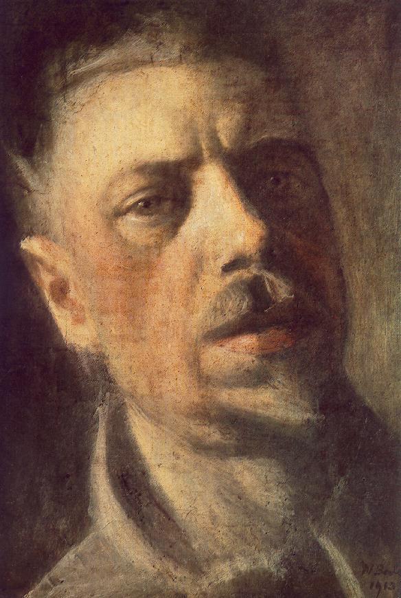 Self portrait 1913 | Janos Balogh Nagy | Oil Painting