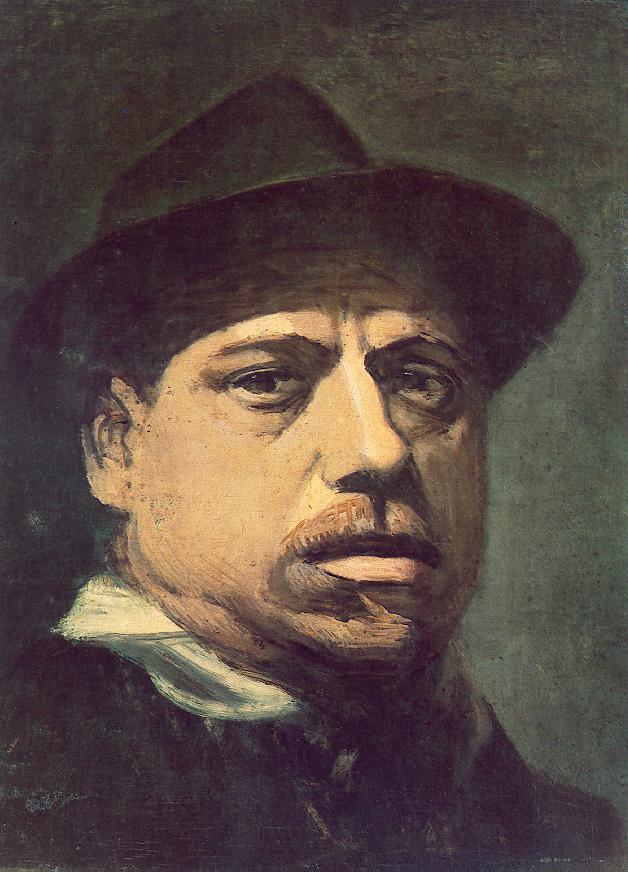 Self portrait 2 | Janos Balogh Nagy | Oil Painting