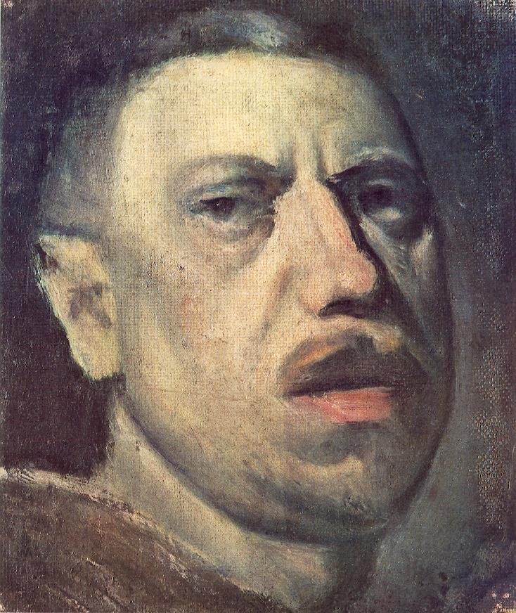 Self portrait | Janos Balogh Nagy | Oil Painting