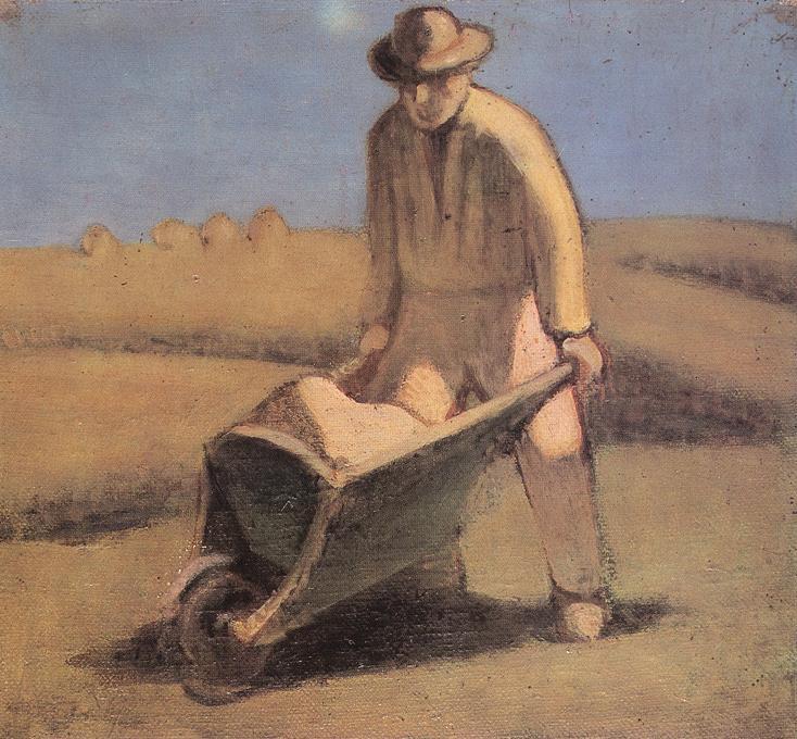 Navvy 1912 | Janos Balogh Nagy | Oil Painting