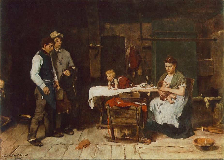 Biboulous Husband 1872 73 | Mihaly Munkacsy | Oil Painting