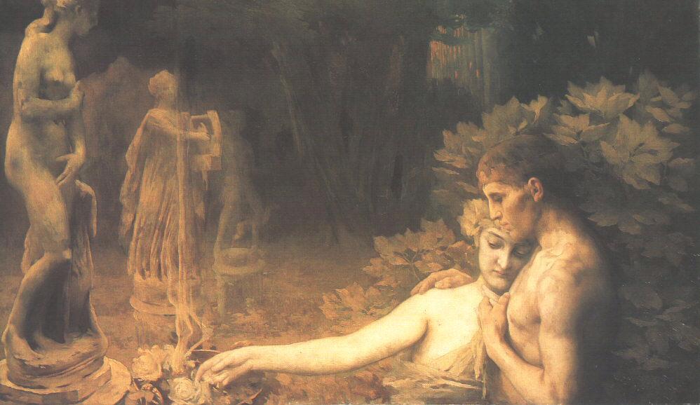 Golden Age 1897 98   Janos Vaszary   Oil Painting