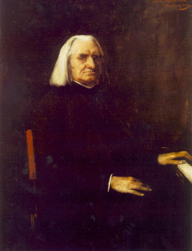 Portrait of Franz Liszt 1886 | Mihaly Munkacsy | Oil Painting