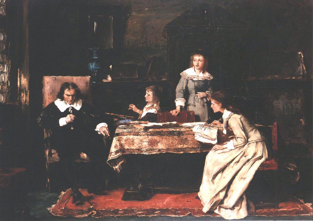 Milton 1878 | Mihaly Munkacsy | Oil Painting