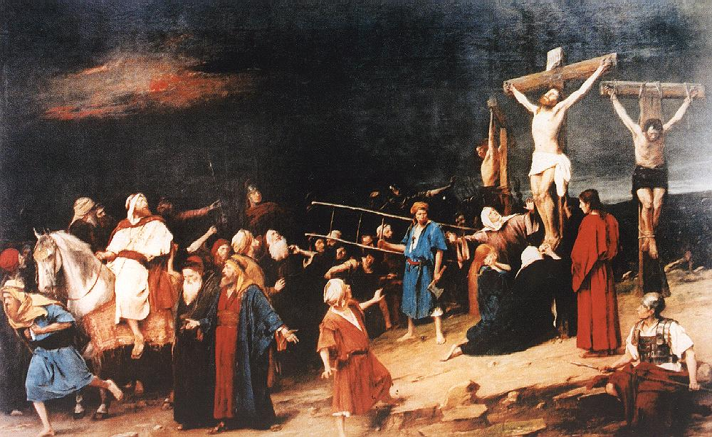 Golgotha 1884 | Mihaly Munkacsy | Oil Painting
