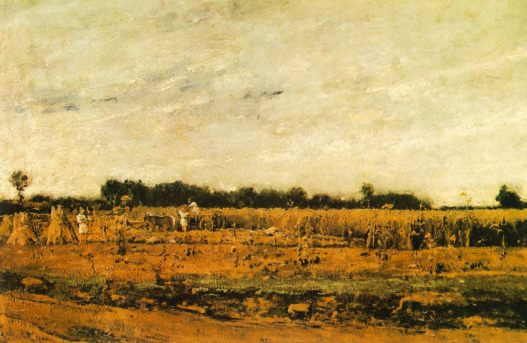 Corn Field 1874 | Mihaly Munkacsy | Oil Painting
