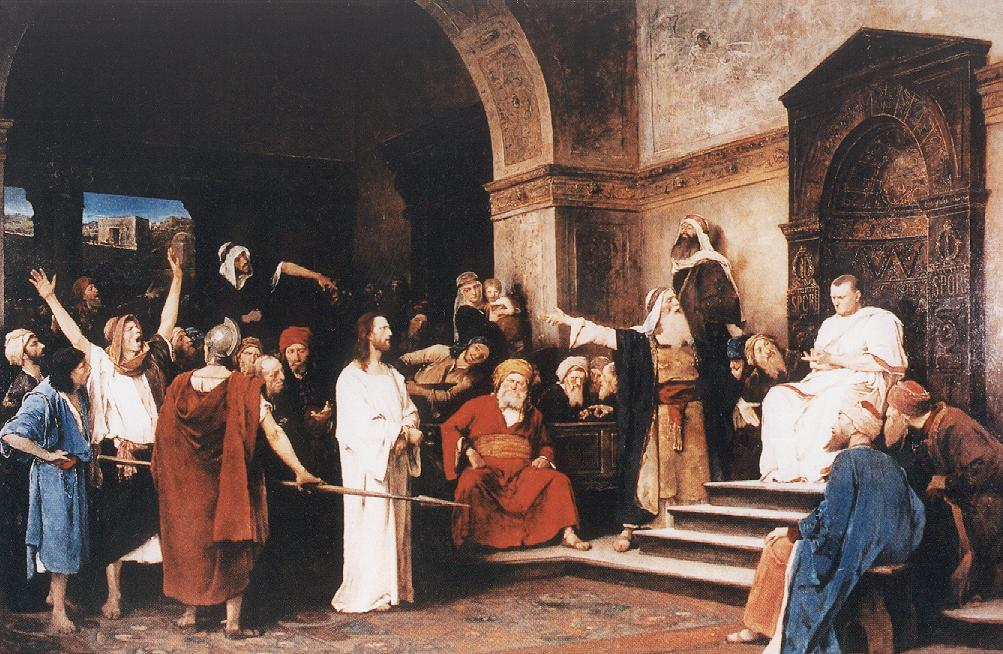 Christ before Pilate 1881 | Mihaly Munkacsy | Oil Painting